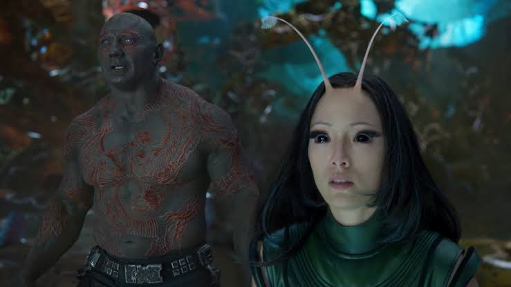 Pom Klementieff as Mantis Guardians of the Galaxy Vol. 2