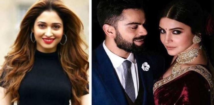 Kohli ja Anushka dating