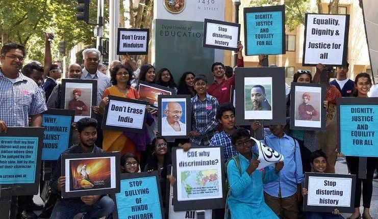 Indian Americans protest