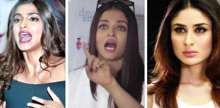 Sonam Kapoor, Aishwarya Rai, Kareena Kapoor