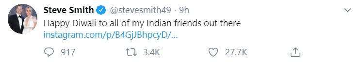 Diwali Tweet