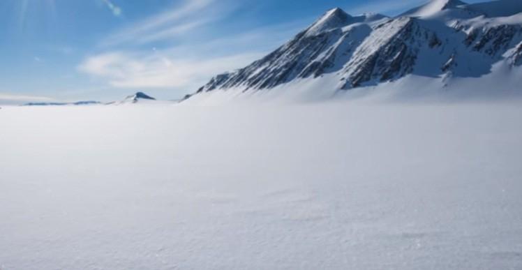 Heat Anomaly Antarctica