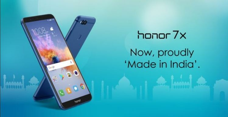 Honor 7X, Made in India, Huawei plant, Flex Telecom