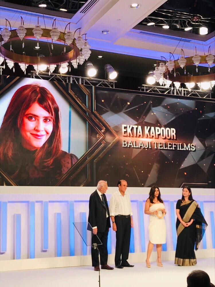 Ekta Kapoor,Icon of Excellence,Forbes Tycoons of Tomorrow awards,Ekta Kapoor recives Forbes Tycoons of Tomorrow awards