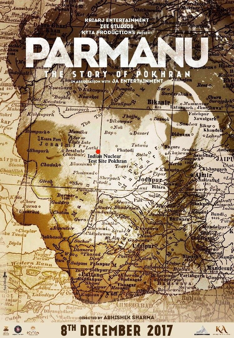 John Abraham,Parmanu first look poster,Parmanu first look,Parmanu poster,Parmanu,John Abraham in Parmanu,bollywood movie Parmanu