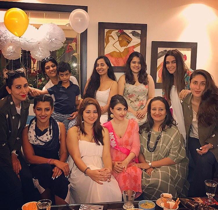 Soha Ali Khan,soha ali khan pregnant,Soha Ali Khan baby shower,Kareena Kapoor,Taimur Ali Khan,Taimur,Karisma,karisma kapoor