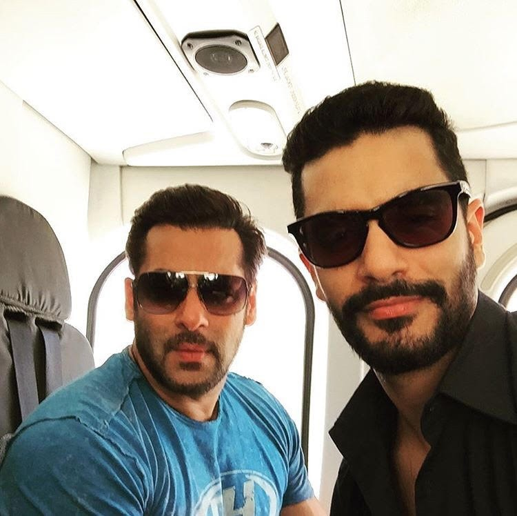 Angad Bedi,Salman Khan,Tiger Zinda Hai,Race 3,Salman Khan and Angad bond
