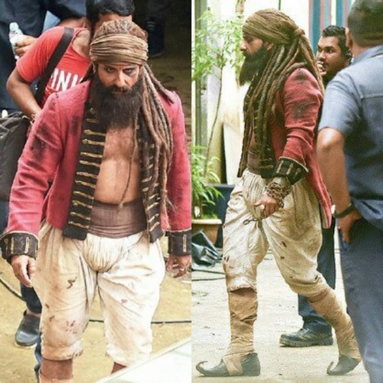 Hunter,Hunter first look,Saif Ali Khan,Saif Ali Khan as Naga Sadhu,Naga Sadhu,Saif Ali Khan in Hunter