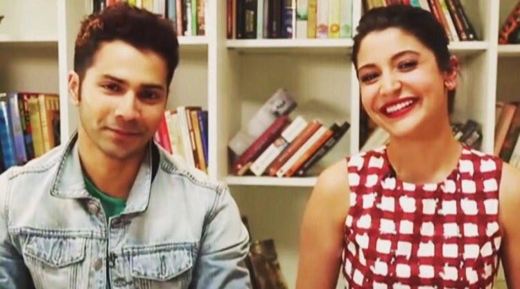 Varun Dhawan and Anushka Sharma