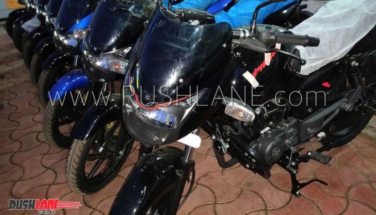 Bajaj Pulsar 150 Classic Black with Red touches