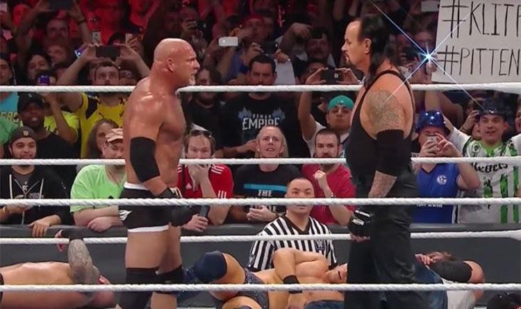 Undertaker vs Goldberg