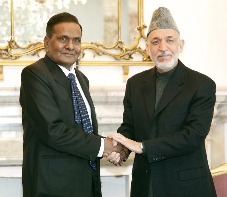 Beni Prasad Verma's Visit to Afghanistan