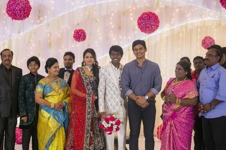 Jeeva at Atlee-Krishna Priya's Wedding Reception