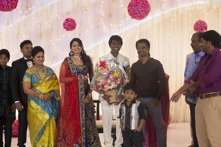 AR Murugadoss at Atlee-Krishna Priya's Wedding