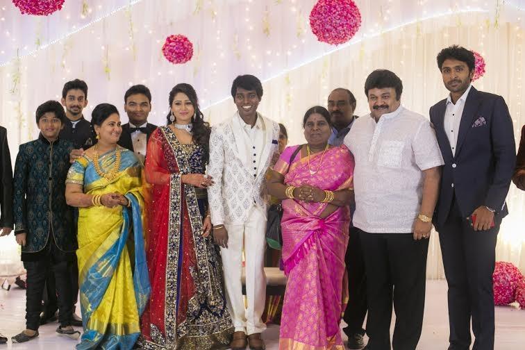 Prabhu,Vikram Prabhu at Atlee-Krishna Priya's Wedding Reception