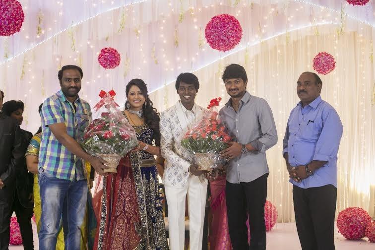 Udhayanidhi Stalin at Atlee-Krishna Priya's Wedding Reception