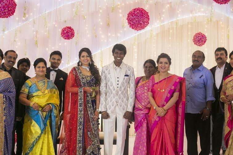 Dhivyadharshini at Atlee-Krishna Priya's Wedding Reception