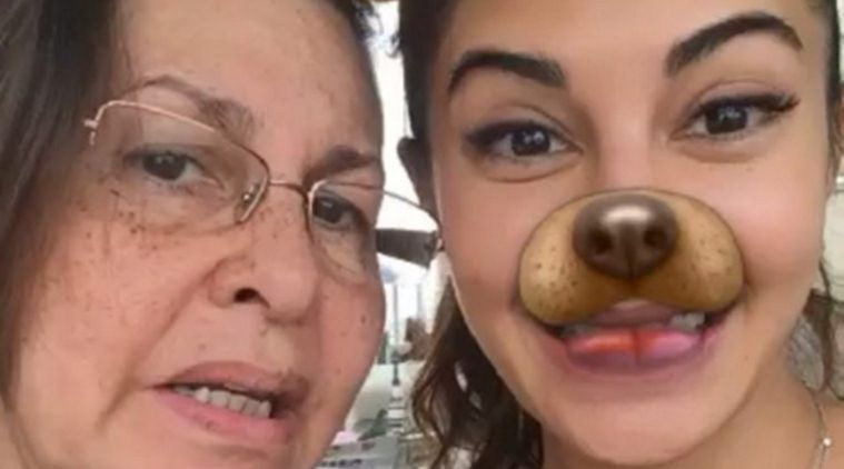 Jacqueline Fernandez,Jacqueline Fernandez celebrates Easter,Jacqueline Fernandez celebrates Easter with mother,Bollywood actress Jacqueline Fernandez,actress Jacqueline Fernandez,Jacqueline Fernandez funny pics,Jacqueline Fernandez funny images,Jacqueline