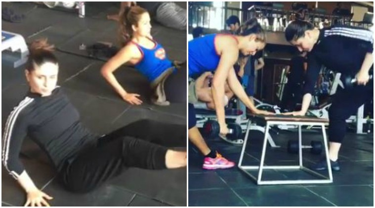 Kareena Kapoor,Varun Dhawan,Alia Bhatt,Katrina Kaif,Buddies of B-Town who workout together