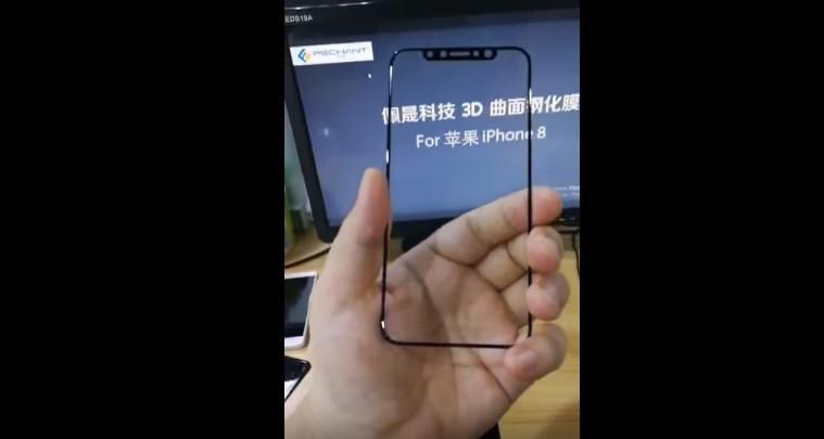 Apple's iPhone 8 screen protector
