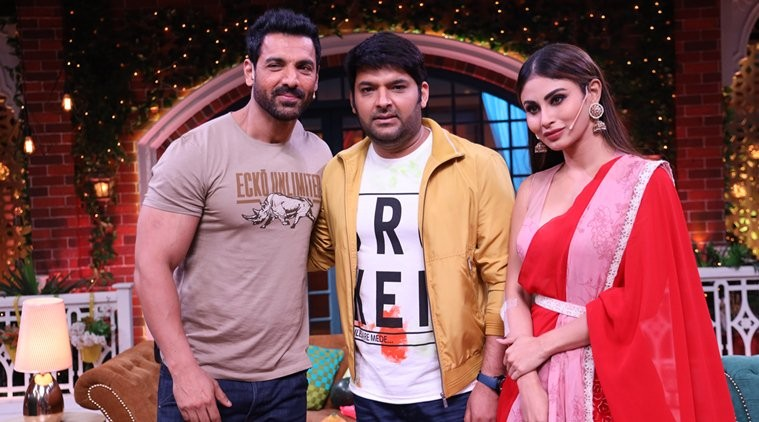 John Abraham and Mouni Roy will be seen on The Kapil Sharma Show.