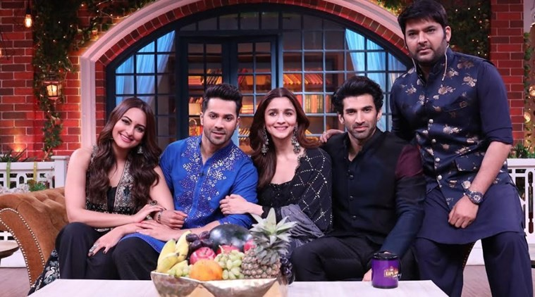 Varun Dhawan, Sonakshi Sinha, Alia Bhatt & Aditya Roy Kapur promote Kalank on The Kapil Sharma Show