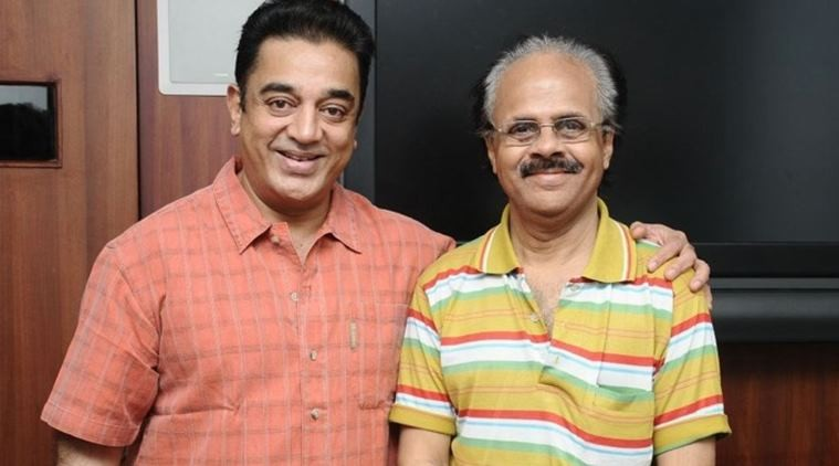 Crazy Mohan with Kamal Haasan