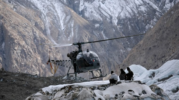 Indian Army Helicopter