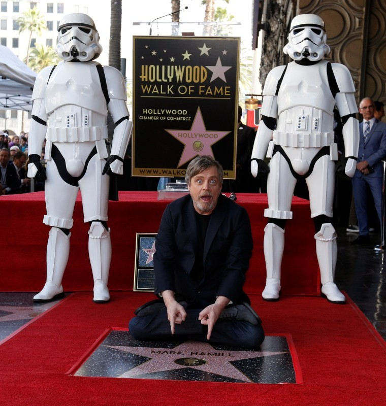 Mark Hamill,actor Mark Hamill,Hollywood Walk of Fame star,Mark Hamill as Hollywood Walk of Fame star,Walk of Fame star,Mark Hamill wallpaper,Mark Hamill poster