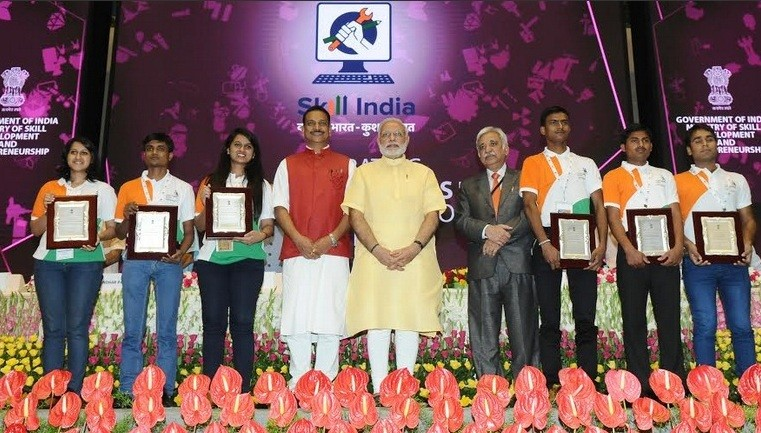 Narendra Modi Launches Skill India Mission