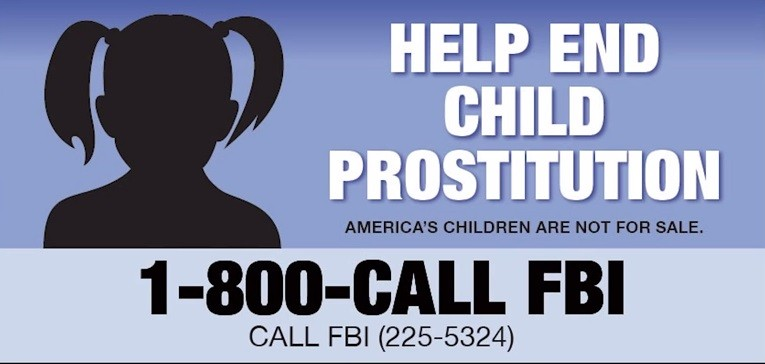 The Federal Bureau of Investigation has recued 168 children, who were victims of child sex trafficking, in one of the largest annual sex-trafficking crackdown.