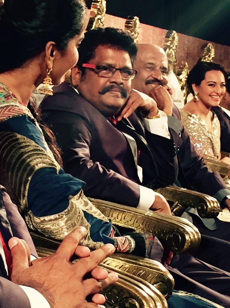 Anushka, KS Ravikumar, Rajinikanth & Sonakshi Sinha
