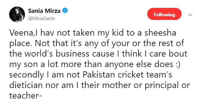 Veena Malik Tweet