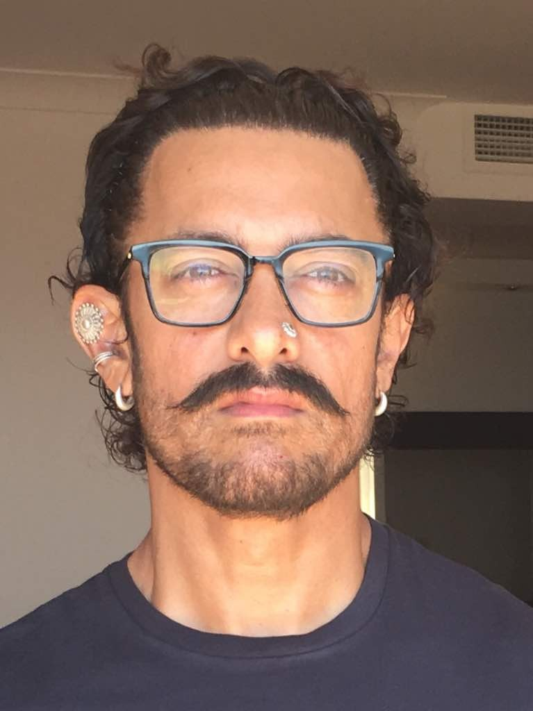 Aamir Khan,actor Aamir Khan,Thugs of Hindostan,Aamir Khan look in Thugs of Hindostan,thugs of hindostan movie,Aamir Khan's painful transformation,Aamir Khan transformation