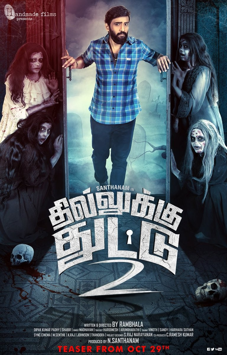 Dhilluku Dhuddu 2 First Look and Posters