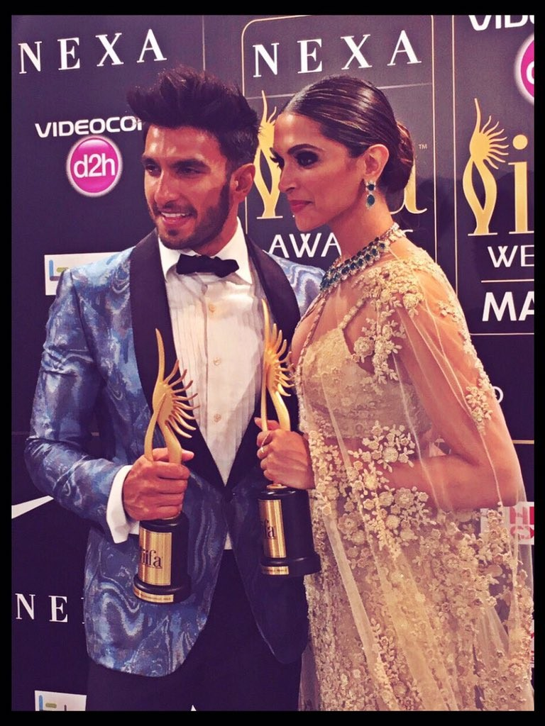 Photos of IIFA 2016 winners.