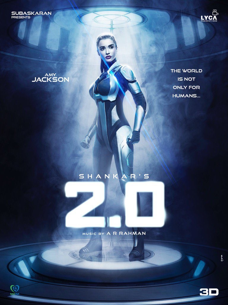 2.0,2.0 first look,2.0 movie,2 Point 0,Amy Jackson,actress Amy Jackson,Amy Jackson first look