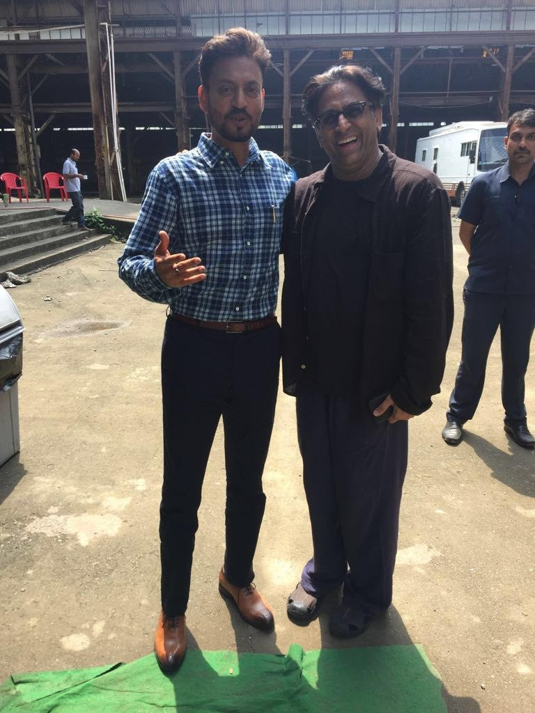 Irrfan Khan,actor Irrfan Khan,Irrfan Khan joins Ace director Ram Madhvan,director Ram Madhvani,Ram Madhvani,Irrfan Khan and Ram Madhvani
