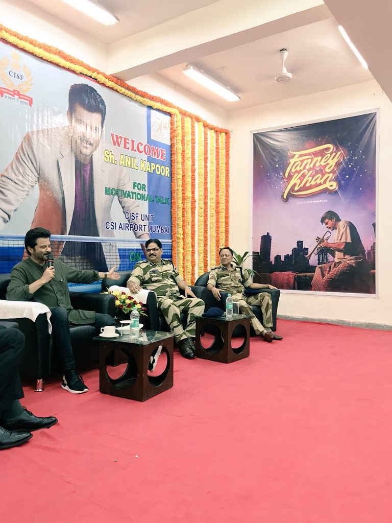 Anil Kapoor,Central Industrial Security Force,Veteran actor Anil Kapoor,Anil Kapoor 50 yrs celebration,Anil Kapoor 50 yrs celebration pics,Anil Kapoor 50 yrs celebration images,Anil Kapoor 50 yrs celebration stills,Anil Kapoor 50 yrs celebration pictures