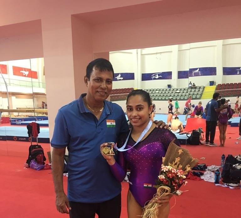 Dipa Karmakar,Dipa Karmakar wins gold,Dipa Karmakar gymnastics,Artistic Gymnastics World Challenge Cup,Dipa Karmakar wins Artistic Gymnastics World Challenge Cup,World Challenge Cup