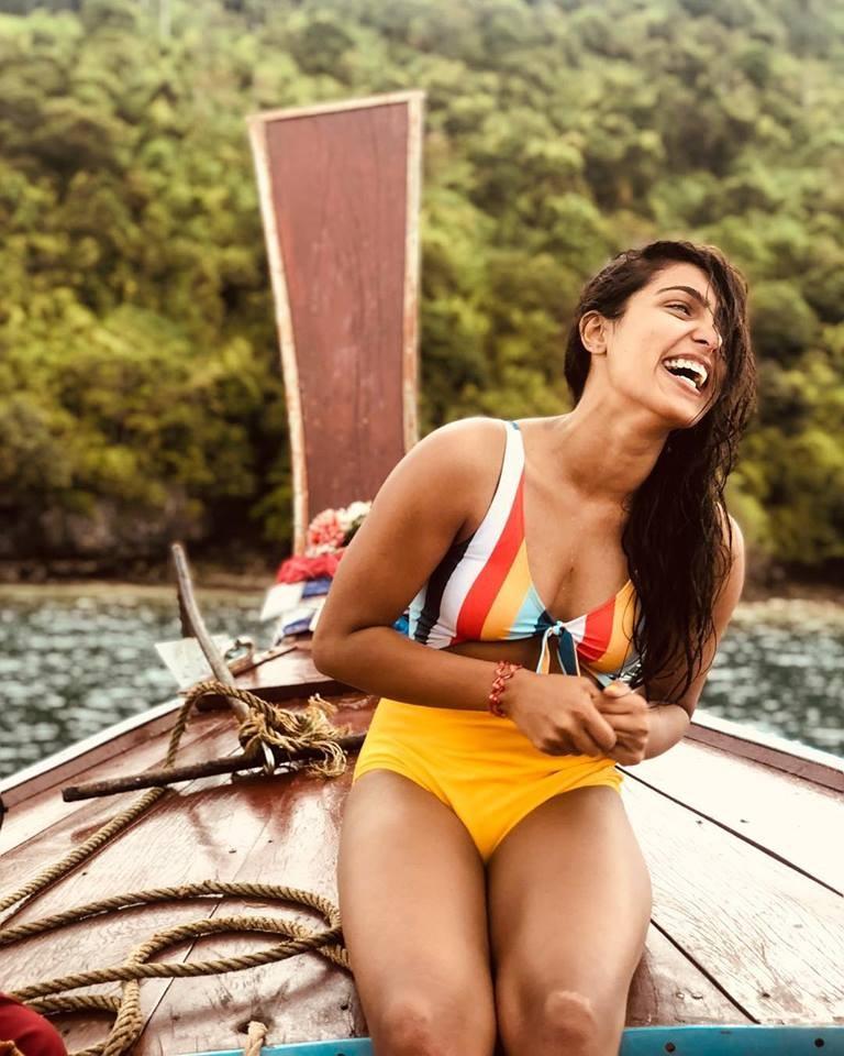 Samyuktha Hegde in Swimsuit