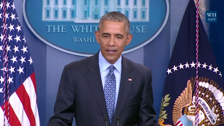 Outgoing President Barack Obama says contructive US-Russia relations are in the worlds interest