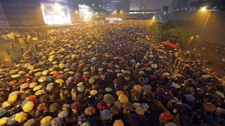 The 2014 Umbrella Movement