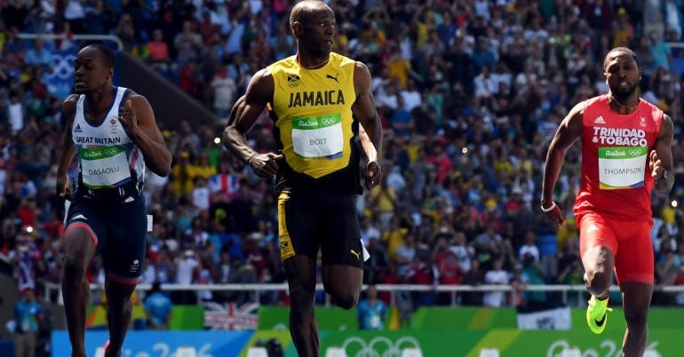 Usain Bolt,Usain Bolt 100M,sprint champion Usain Bolt,Rio Olympics,Rio Olympics 2016,Usain Bolt qualifies for 100m semifinals
