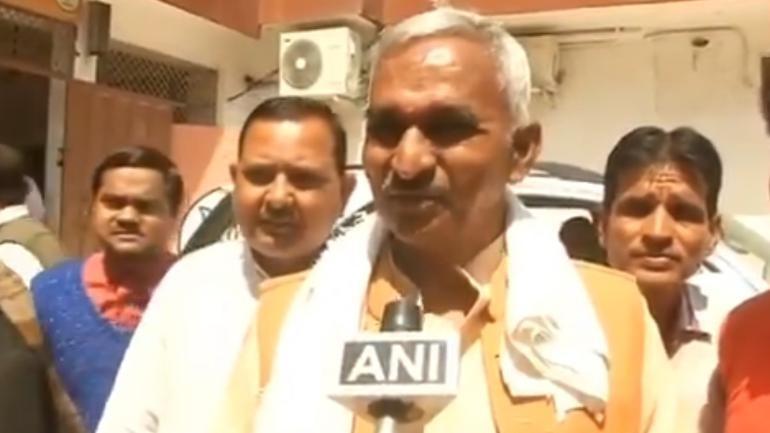 BJP leader Surendra Narayan Singh
