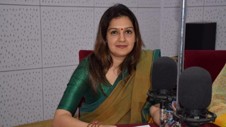 Congress spokesperson Priyanka Chaturvedi