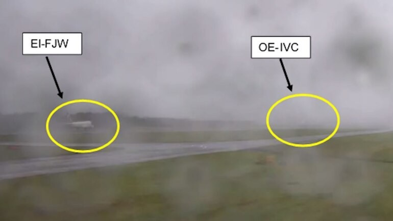 Airplanes at Edinburgh airport avoid crash by just 2 seconds