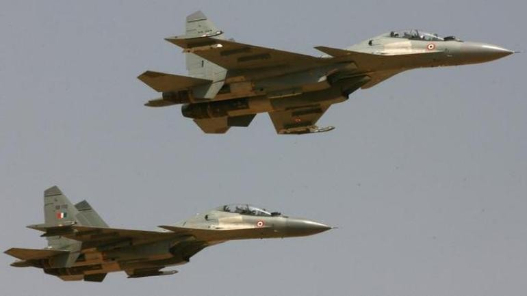 Sukhoi-30 fighter aircraft of Indian Airforce