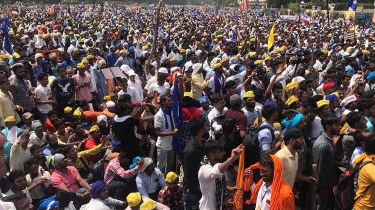 Delhi Dalit protest