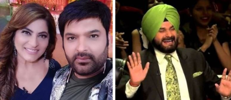 Archana Puran Singh and Navjot Singh Sidhu